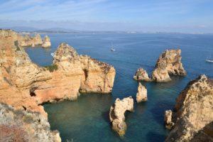 lagos Portugalia widok