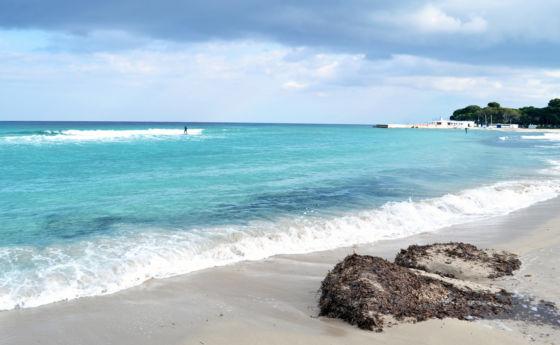 Lazurowe wody plaży Mondello