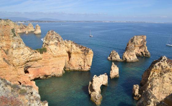 lagos Portugalia widok-algarve